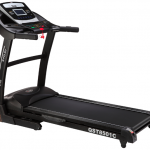 Motorized Treadmill Three Count Down Modes Blue Backlit LCD