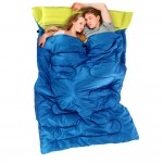 2 people Sleeping bag Naturehike Camping with Pillows Inflator Carrying Bag