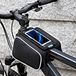 Double Bicycle Pouch Roswheel Bike Front Frame Pannier