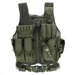 Hunting Vest Outdoor Military Tactical Polyester Airsoft for Camping Hiking