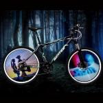 Bicycle Wheel Light DIY 144 RGB Colorful Water Resistant