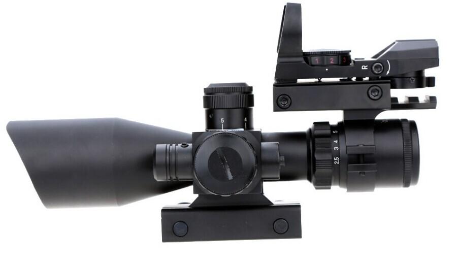 illuminated riflescope