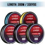 Lixada Braided Fishing Line 300M / 330Yds 8 Strands